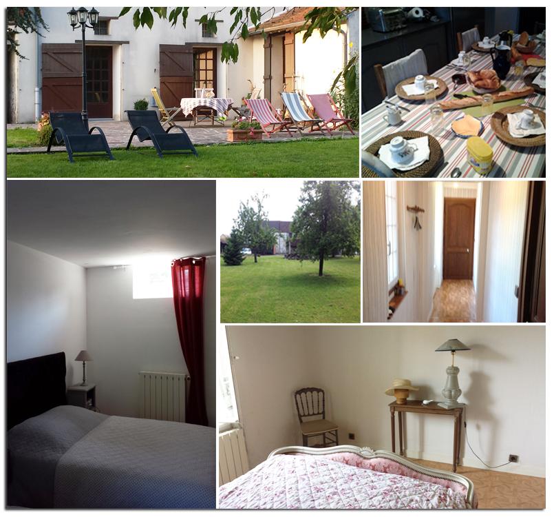Chambres d 39 h tes de la tuilerie for Jardin de la tuilerie