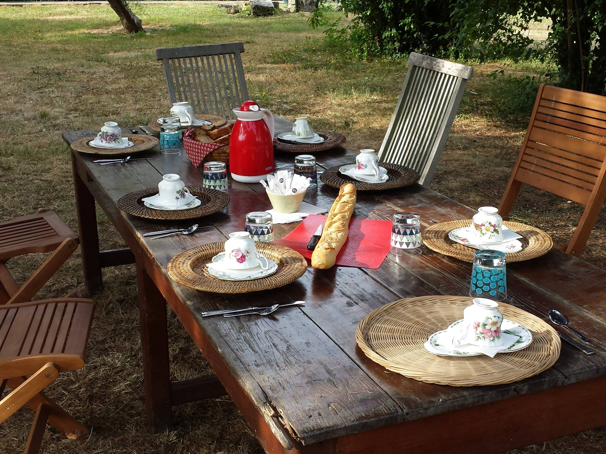 Petits dejeuners a la tuilerie les jardins de la tuilerie for Jardin de la tuilerie